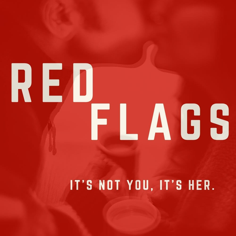 Publicity photo of RED FLAGS by Lauren Ludwig that will play at the immersive theatre festival in Salt Lake City.