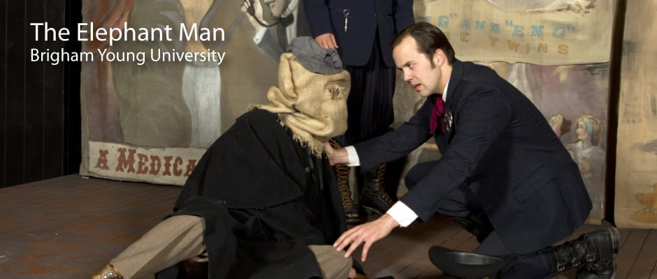 Step in and see the hauntingly beautiful ELEPHANT MAN