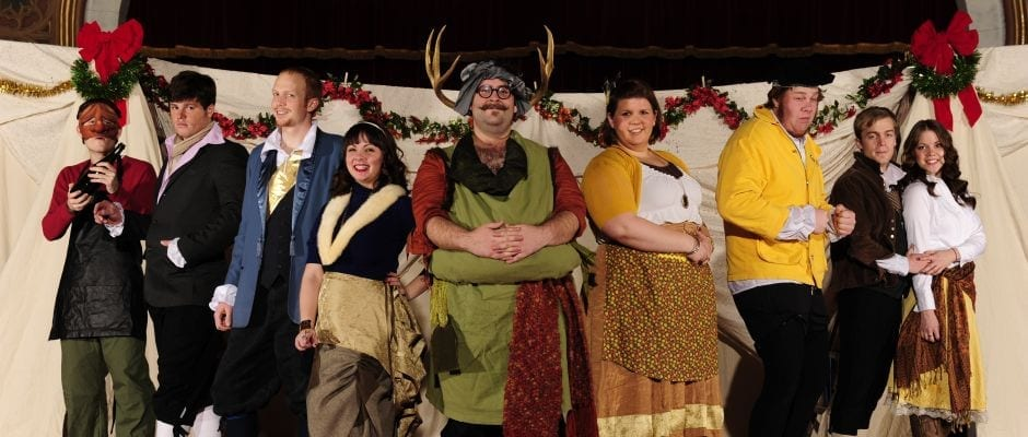 MERRY WIVES OF WINDSOR is a combination of all things good