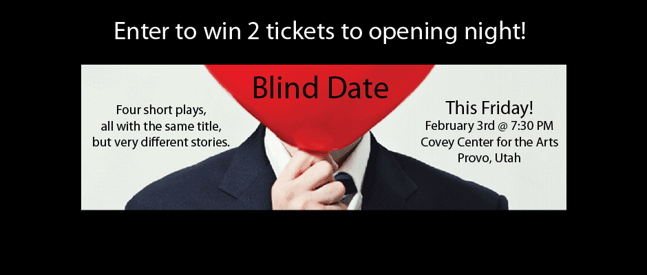 Win 2 tickets to BLIND DATE at Covey Center