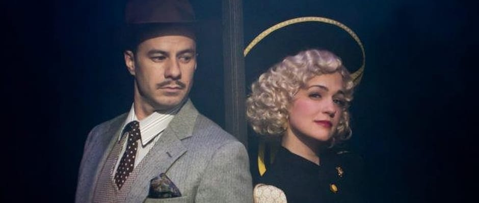 THE 39 STEPS runs on frenetic hilarity