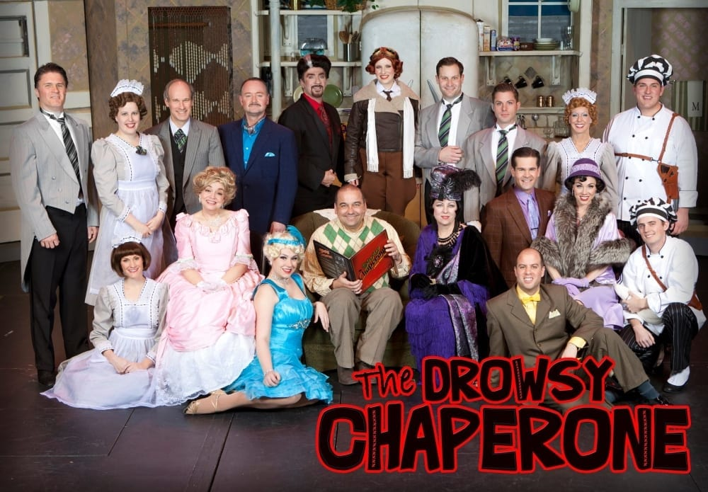 DROWSY CHAPERONE is a wonderful escape