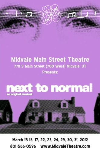 Midvale's NEXT TO NORMAL has some growing up to do