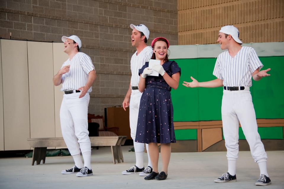 DAMN YANKEES shows lots of heart in West Valley