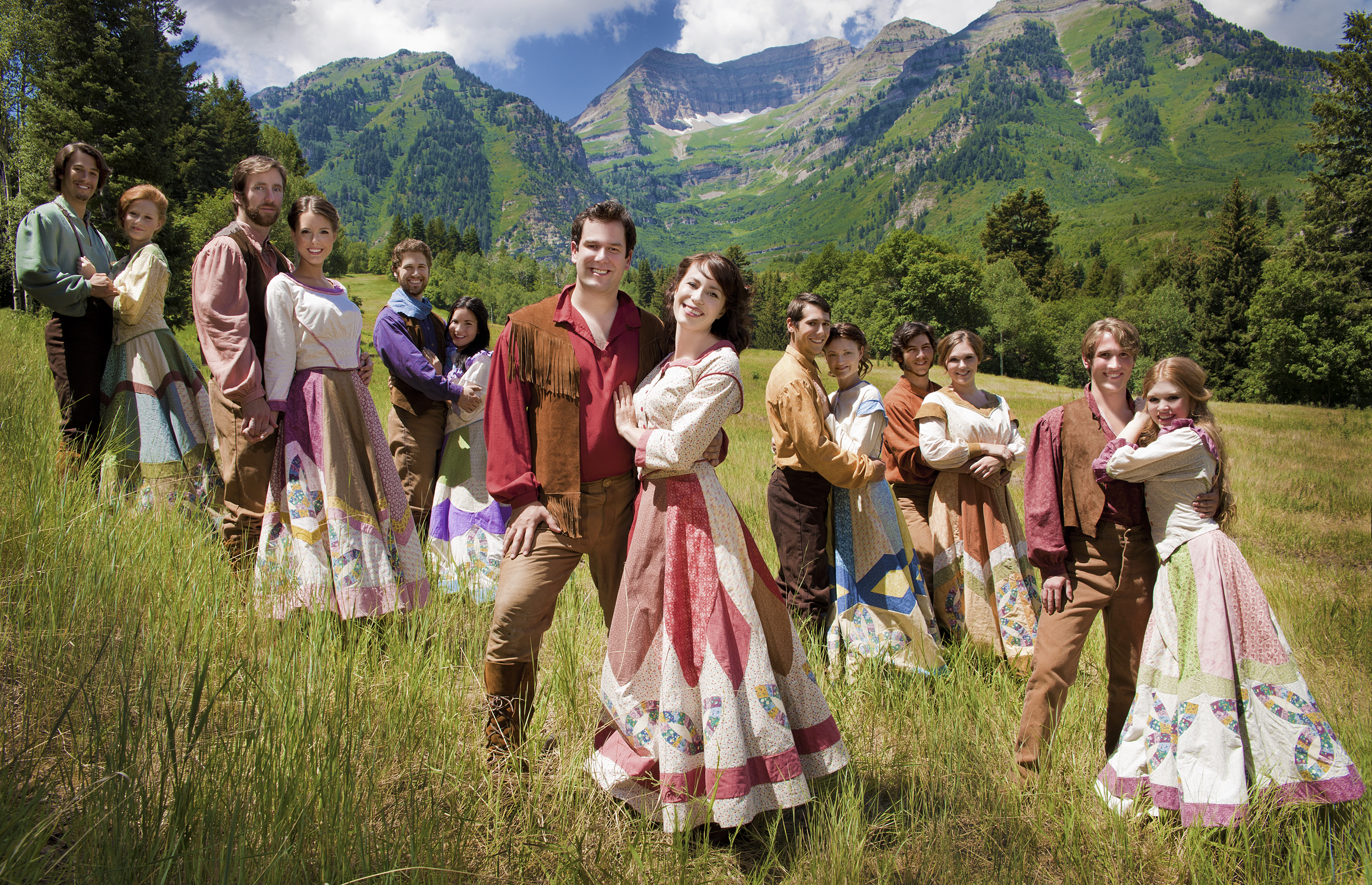 Bless your beautiful hide! SEVEN BRIDES is at Sundance