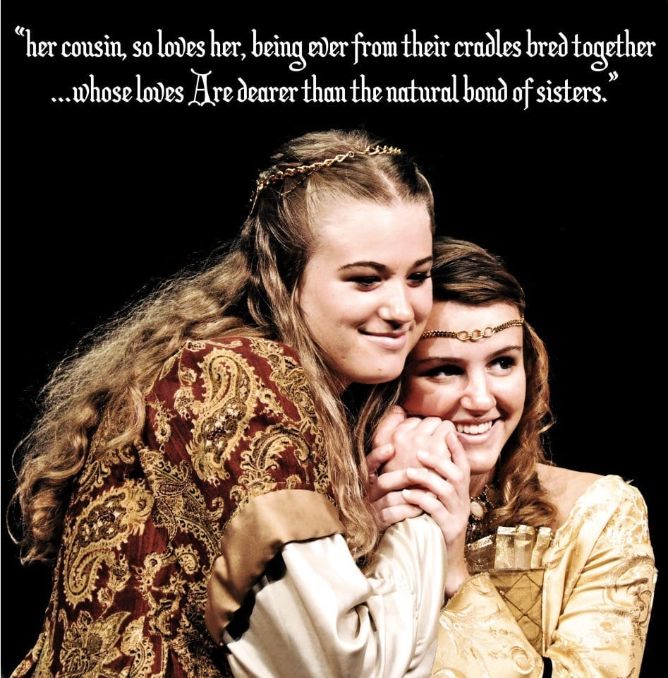 Such Stuff's AS YOU LIKE IT lacks humor, but honors the Bard