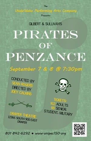 A poor PIRATES OF PENZANCE in Draper