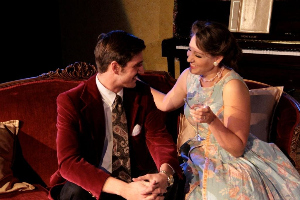 BLITHE SPIRIT leads make for a charming haunt