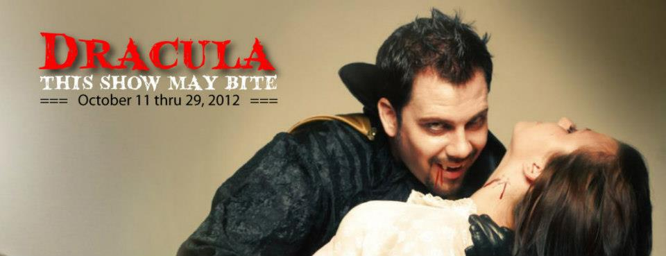 Salty Dinner Theater's DRACULA: THIS SHOW MAY BITE certainly doesn't suck