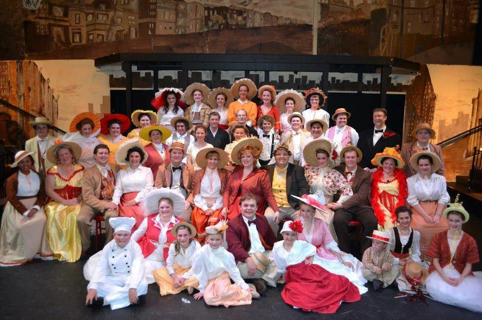 A vibrant greeting to HELLO, DOLLY!
