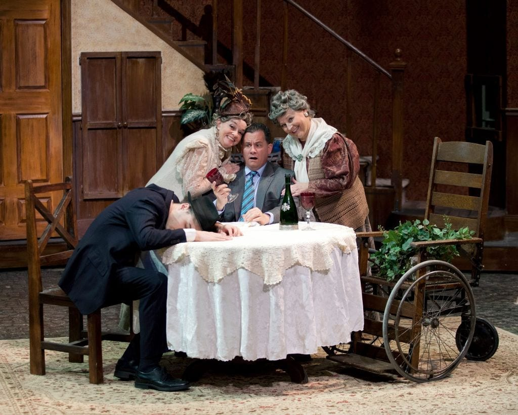 Script, set, and old ladies are strengths in ARSENIC AND OLD LACE