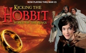 KICKING THE HOBBIT is a big, nerdy in-joke