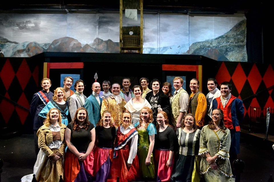 THE SCARLET PIMPERNEL provides laughs at the Empress Theater