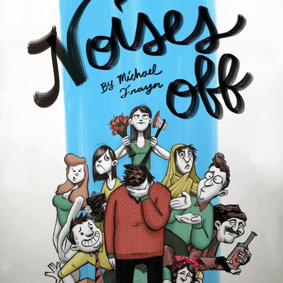 NOISES OFF! packs huge laughs into a small space