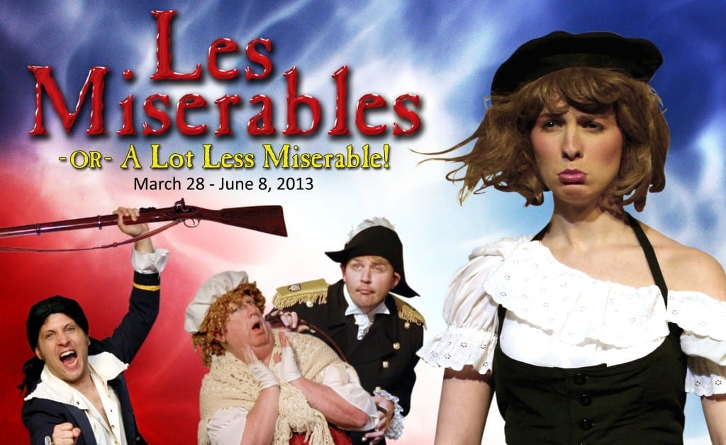 Desert Star's LES MISERABLES – A LOT LESS MISERABLE ruthlessly skewers a classic