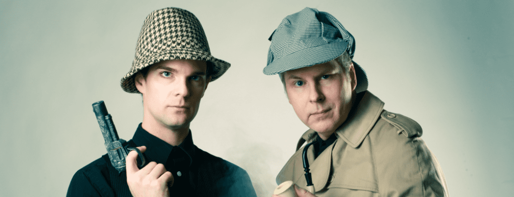 Salty Dinner Theater's SHERLOCK HOLMES is elementary fun