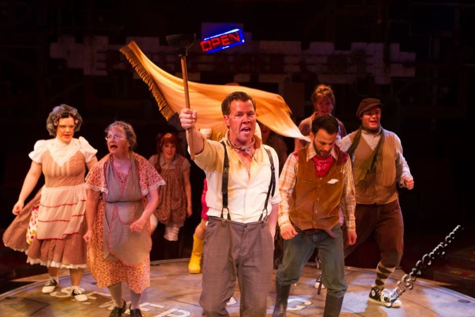 URINETOWN is a #1 show