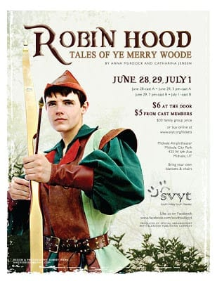 Have a merry time watching ROBIN HOOD: TALES OF YE MERRY WOODE