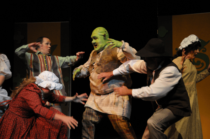 High praise for SHREK THE MUSICAL in Payson