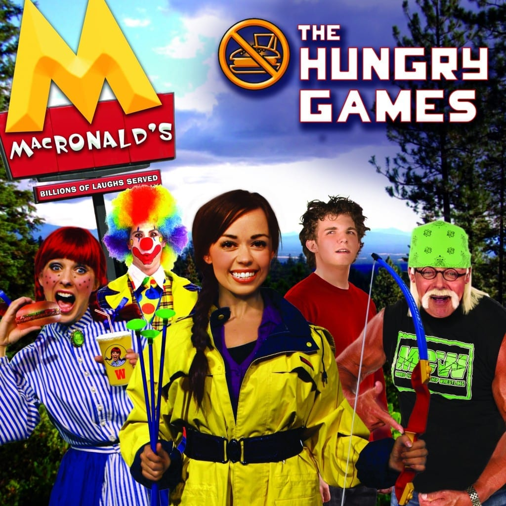 Billions of laughs served at THE HUNGRY GAMES
