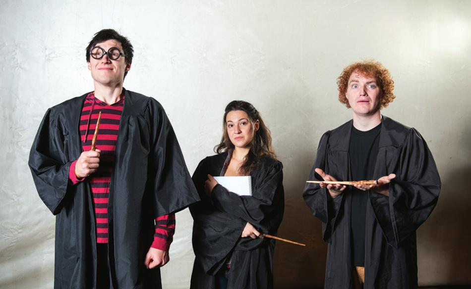 FAIRLY POTTER: a perfect parody production