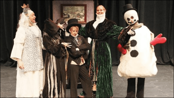 FARNDALE CHRISTMAS CAROL brings welcomed comedy to a Christmas standard