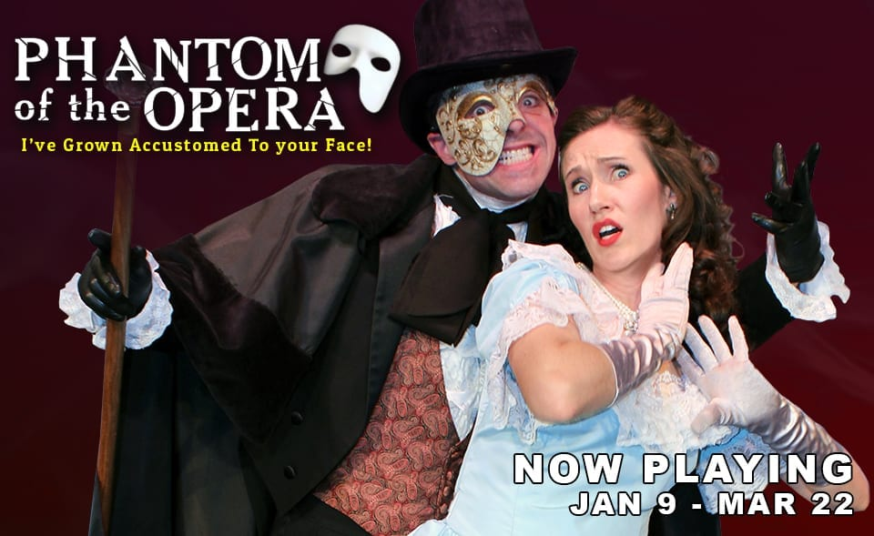 Desert Star's PHANTOM OF THE OPERA parody is pleasant family fun