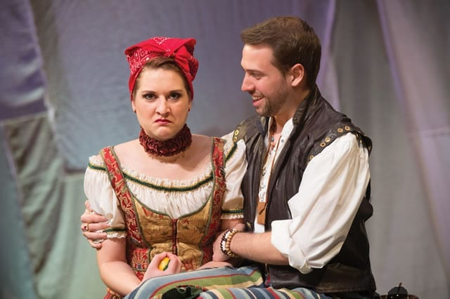 Use THE TAMING OF THE SHREW tour to introduce kids to Shakespeare