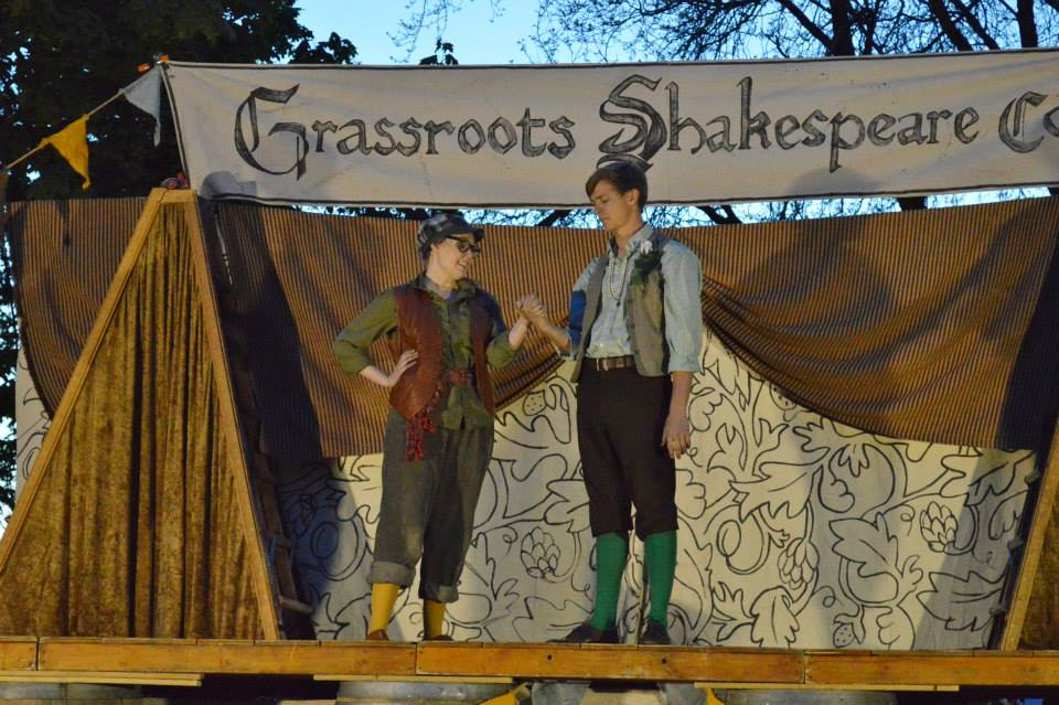 Grassroots creates an energetic AS YOU LIKE IT
