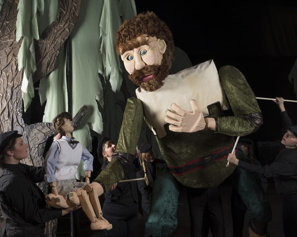 Puppets and theatre magic make THE SELFISH GIANT a big ticket