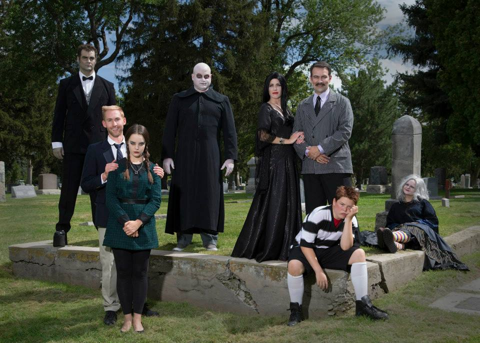 SCERA creates an ooky ADDAMS FAMILY
