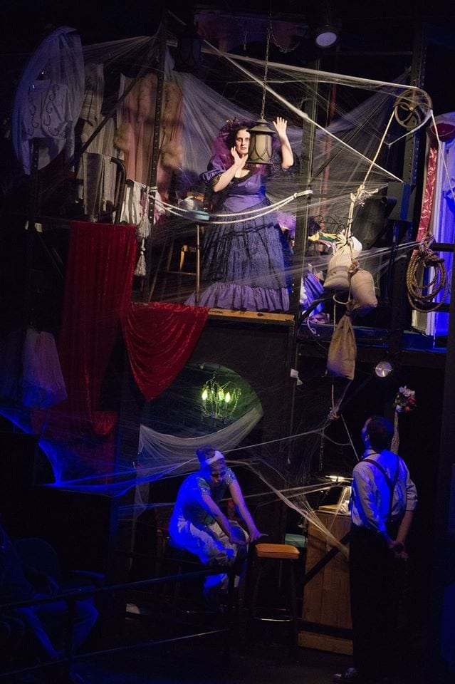 UCT's HAUNTED THEATRE SPOOKTACULAR is silly, creepy, and fun