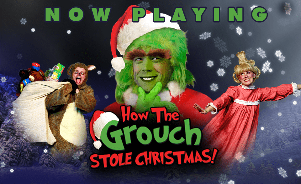Find hilarious Christmas cheer in HOW THE GROUCH STOLE CHRISTMAS