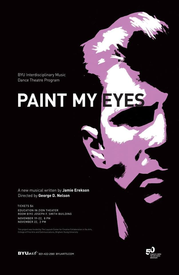 Utah theatre artist dreams big with PAINT MY EYES