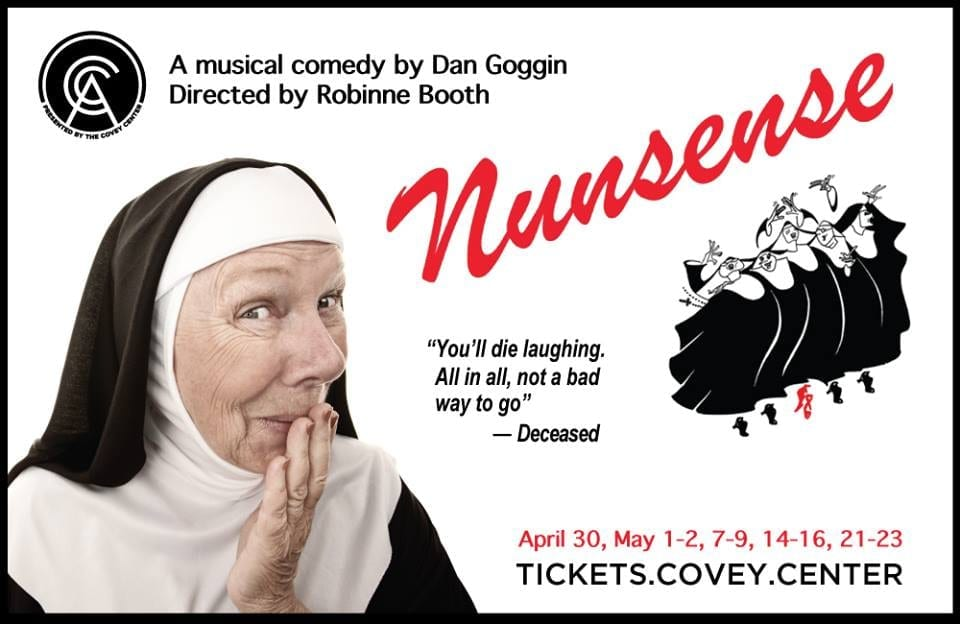 Utter nonsense to miss the Covey's NUNSENSE