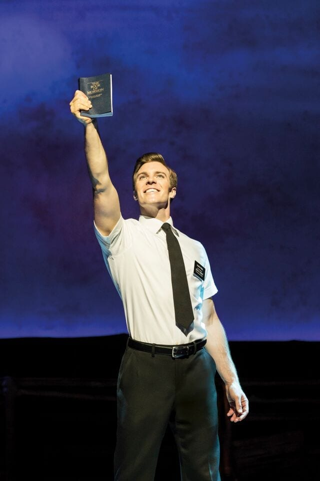 "Say ""Hello"" to hilarious satire and surprising depth in THE BOOK OF MORMON"