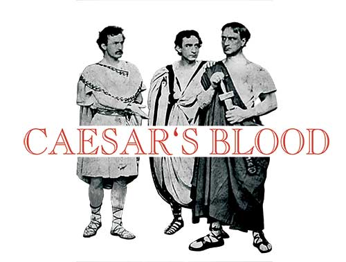 CAESAR'S BLOOD left me eager to bleed him some more