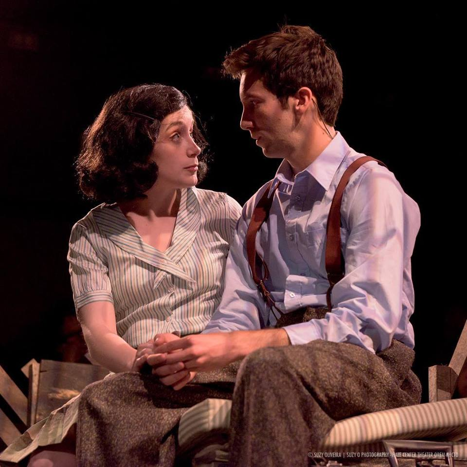 Orem Hale creates an intimate production of THE DIARY OF ANNE FRANK