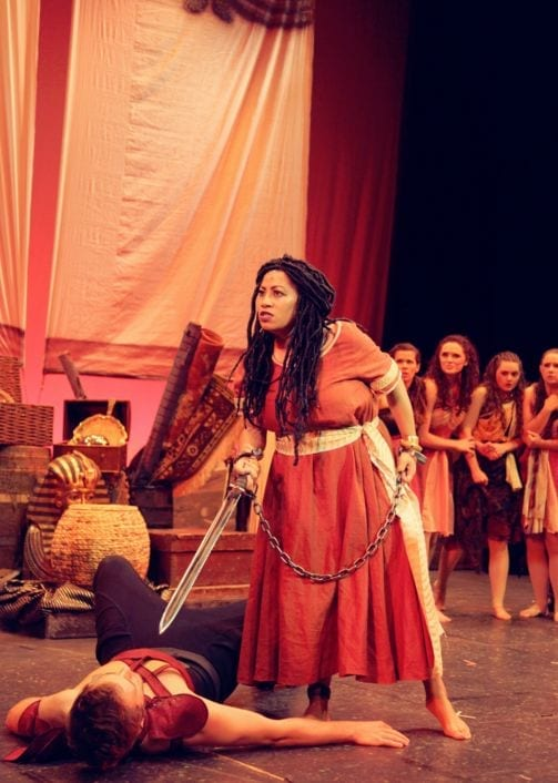 AIDA in Centerville is elaborate & lively