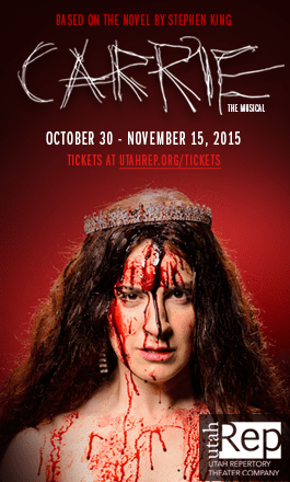 A Fresh Take on a Horror Class: Interview with Johnny Hebda about the Utah premier of Carrie.