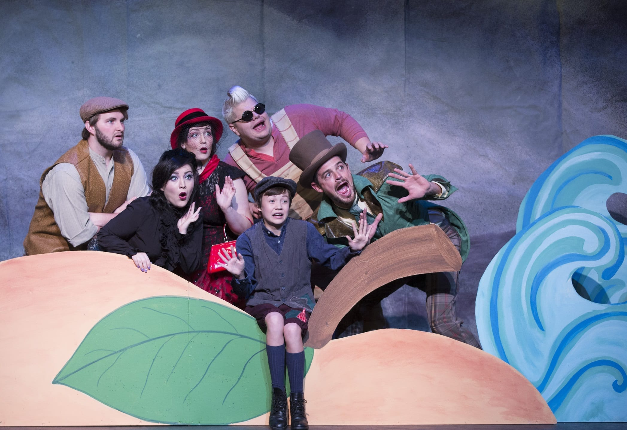 A peachy production of JAMES AND THE GIANT PEACH