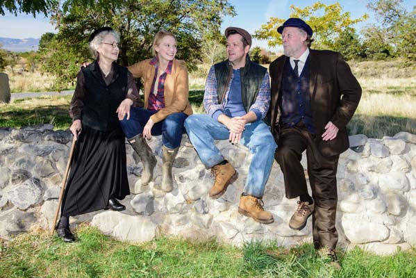 A superbly acted OUTSIDE MULLINGAR at Pioneer Theatre Company
