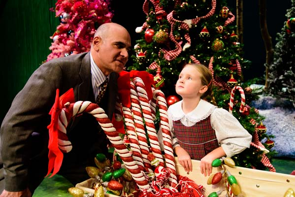 IT HAPPENED ONE CHRISTMAS is a family-friendly holiday revue