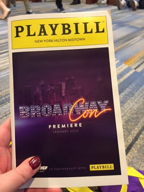 BroadwayCon: an event for theatre fans, by theatre fans