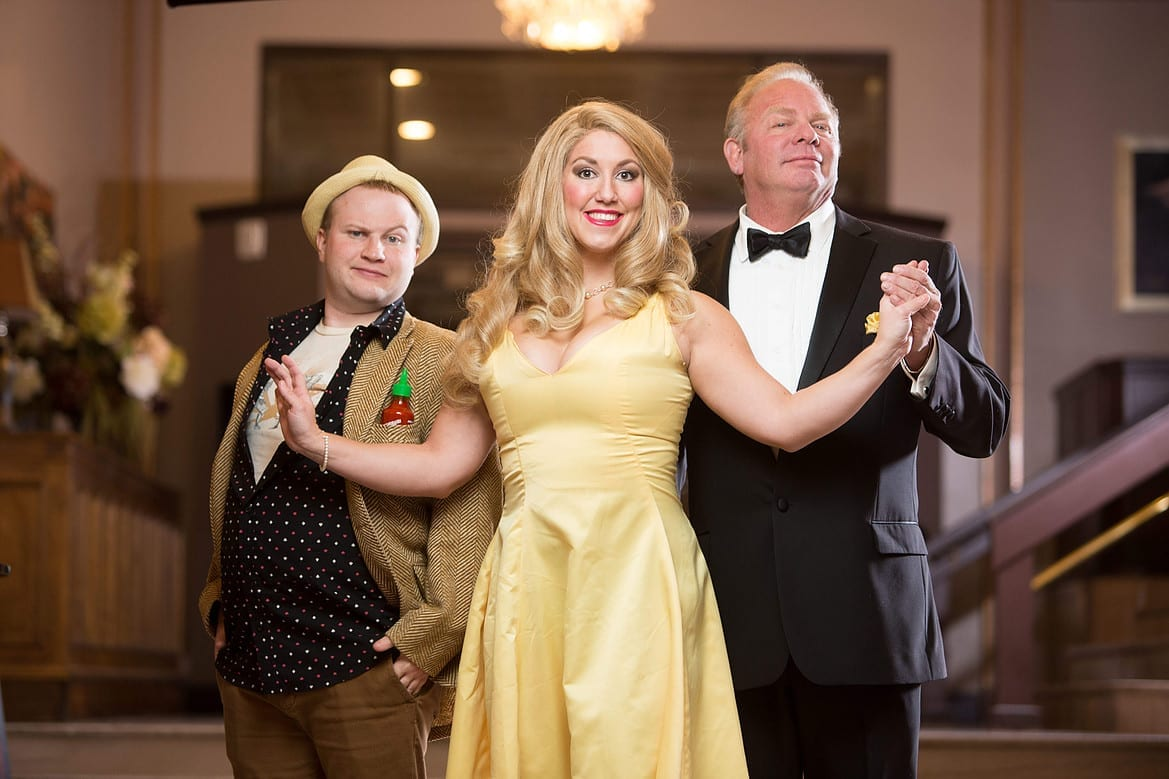 DIRTY ROTTEN SCOUNDRELS cast sneaks in great performances