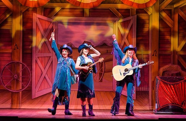 Pioneer Theatre's COWGIRLS is an impressive display of musical talent