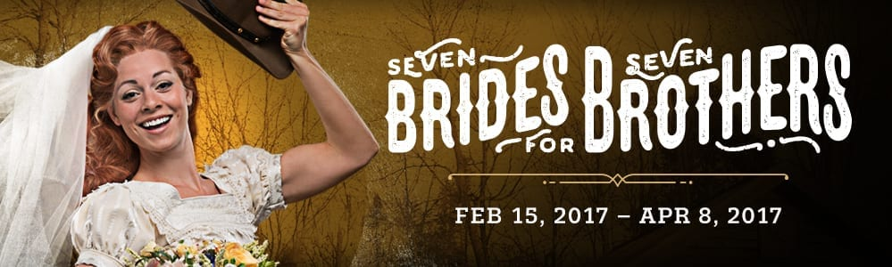 "A ""wonderful, wonderful day"" at SEVEN BRIDES FOR SEVEN BROTHERS"
