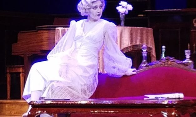 BLITHE SPIRIT is a tough slog, despite artists' best efforts