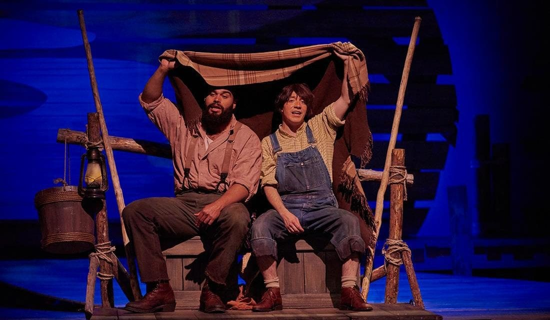 Don't miss the adventure of Lyric Rep's BIG RIVER