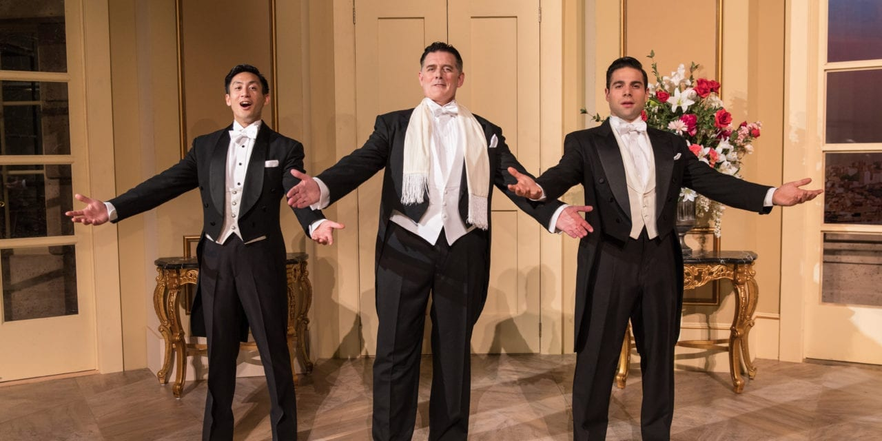 A joyous second movement in A COMEDY OF TENORS